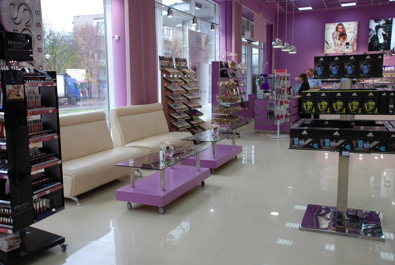 Дизайн магазина парфюмерии